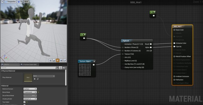 UE4 – Animated texture using a Flip-Book node – Oded Erell's