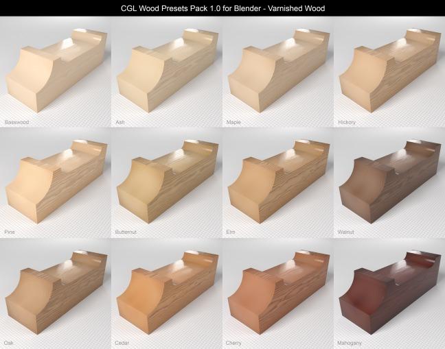 CGL_Wood_Presets_Pack_1.0_Previews_Varnished