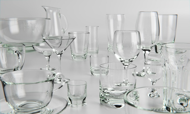 3D-Rendering-of-glassware